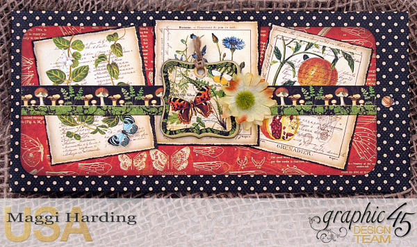 Tag mini, Nature Sketchbook, tutorial by Maggi Harding, Graphic 45 (08)