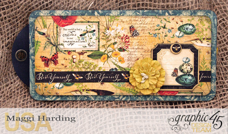 Tag mini, Nature Sketchbook, tutorial by Maggi Harding, Graphic 45 (17)