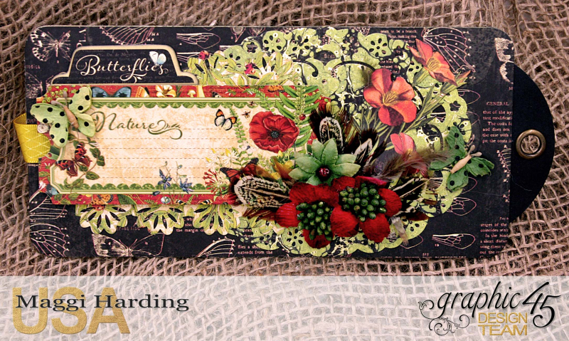 Tag mini, Nature Sketchbook, tutorial by Maggi Harding, Graphic 45 (18)