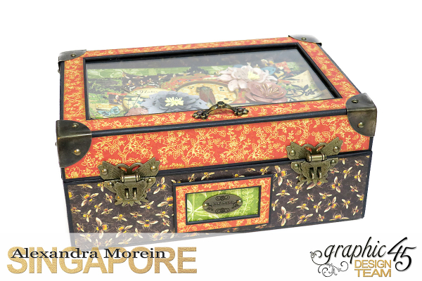 Nature Sketchbook Box&Notebook&ATC, Tutorial by Alexandra Morein, Product by Graphic 45, Photo 1