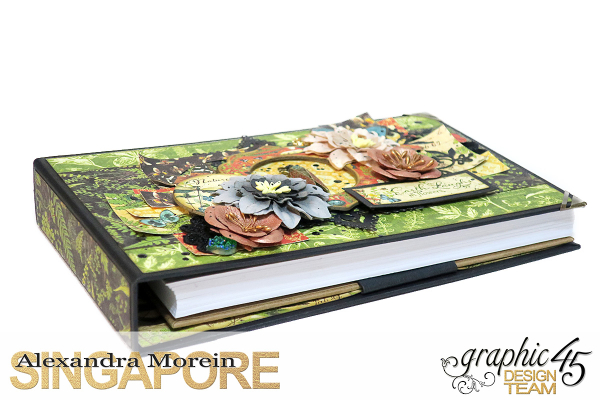 Nature Sketchbook Box&Notebook&ATC, Tutorial by Alexandra Morein, Product by Graphic 45, Photo 14