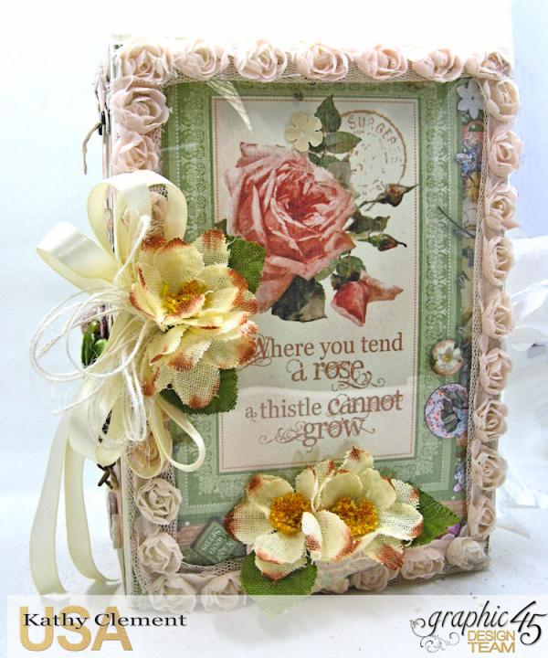 Secret Garden Tag Album Tutorial, Secret Garden, by Kathy Clement, Product by Graphic 45, Photo 1