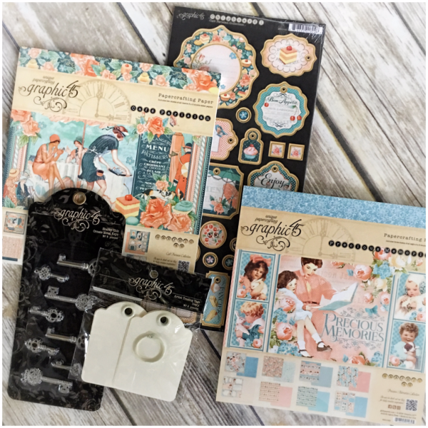 Win this gorgeous prize pack from Graphic 45!