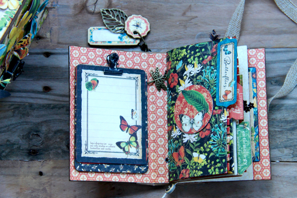 Box And Album Nature Sketchbook by Marina Blaukitchen Product by Graphic 45 photo 13