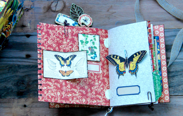 Box And Album Nature Sketchbook by Marina Blaukitchen Product by Graphic 45 photo 18