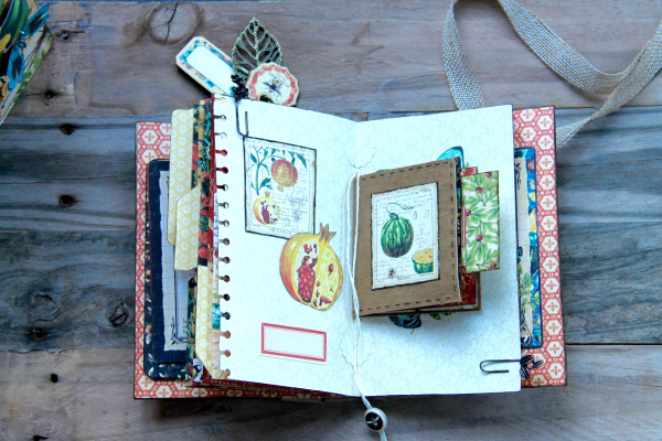 Box And Album Nature Sketchbook by Marina Blaukitchen Product by Graphic 45 photo 22