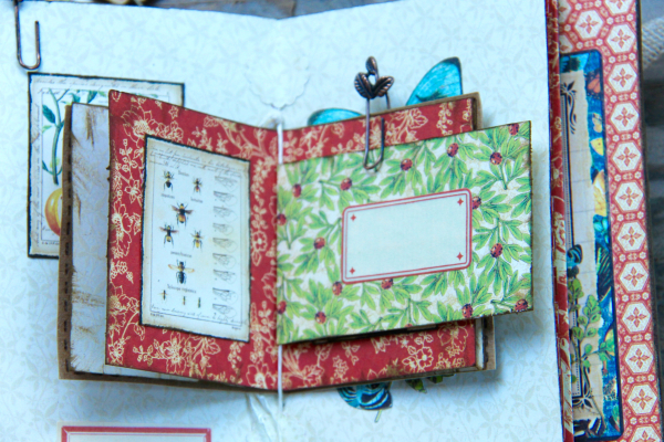 Box And Album Nature Sketchbook by Marina Blaukitchen Product by Graphic 45 photo 25