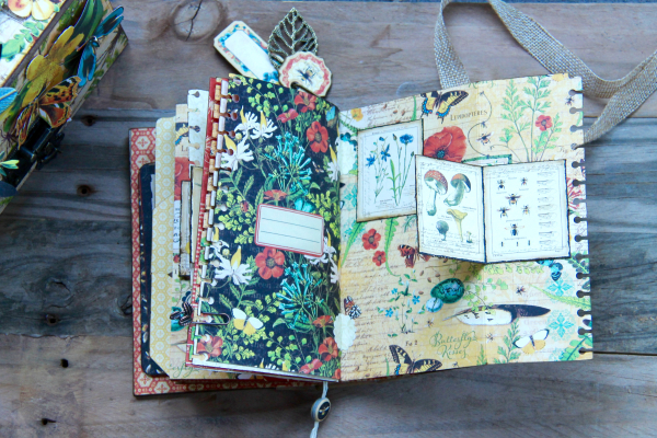 Box And Album Nature Sketchbook by Marina Blaukitchen Product by Graphic 45 photo 36