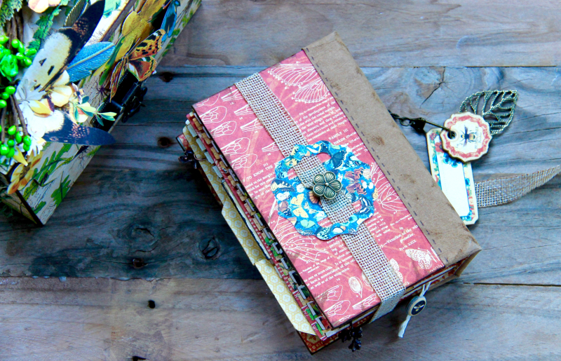 Box And Album Nature Sketchbook by Marina Blaukitchen Product by Graphic 45 photo 39