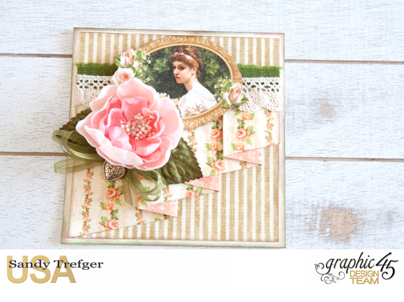 Romantic Cards  Portrait of a Lady  by Sandy Trefger  Product by Graphic 45  Photo 004