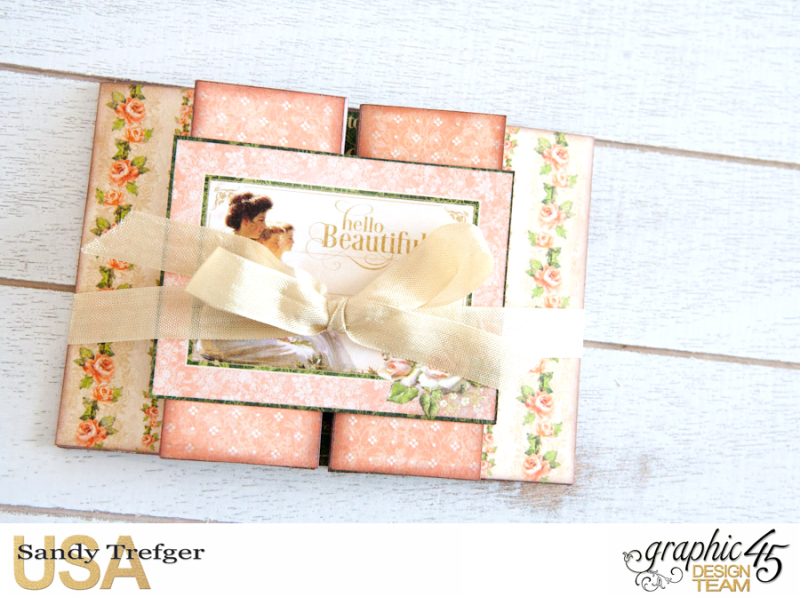 Romantic Cards  Portrait of a Lady  by Sandy Trefger  Product by Graphic 45  Photo 003