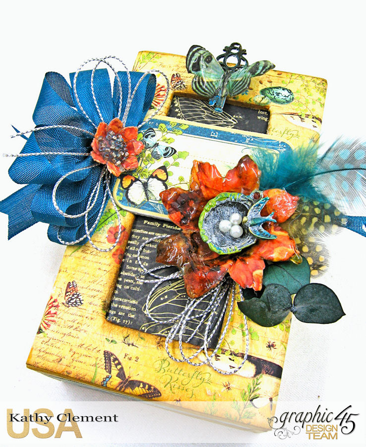Accessorize with Graphic 45 Brooch  Nature Sketchbook  by Kathy Clement  Product by Graphic 45  Photo 6