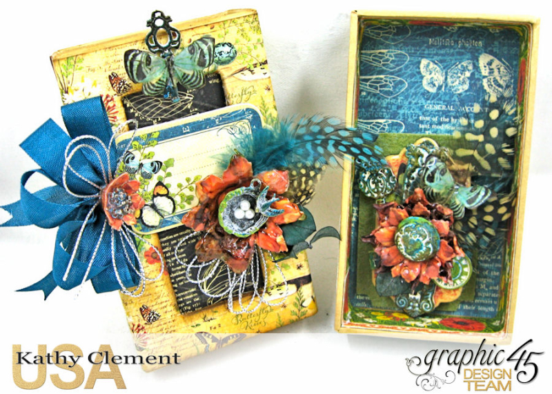 Accessorize with Graphic 45 Brooch  Nature Sketchbook  by Kathy Clement  Product by Graphic 45  Photo 8