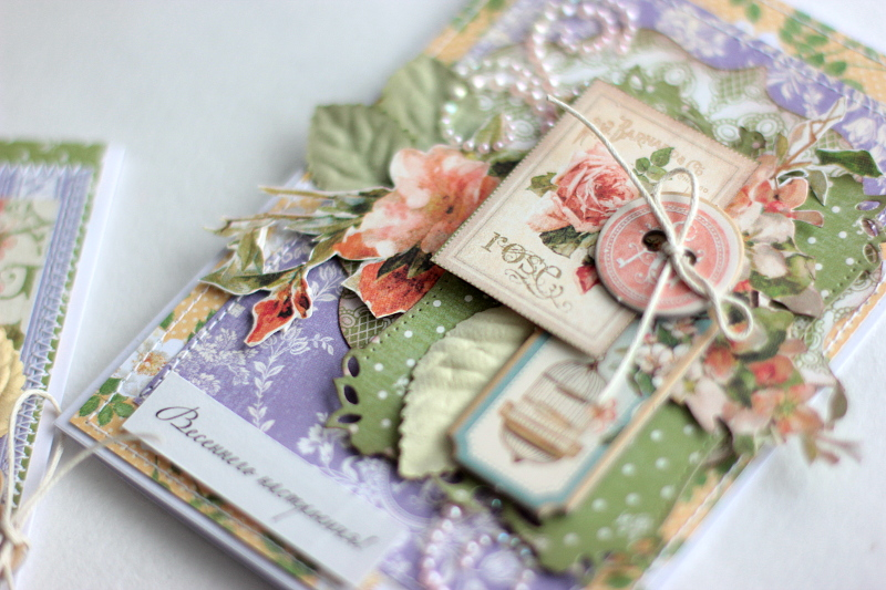 Spring Cards  Secret Garden  by Elena Olinevich  product by Graphic45  photo8