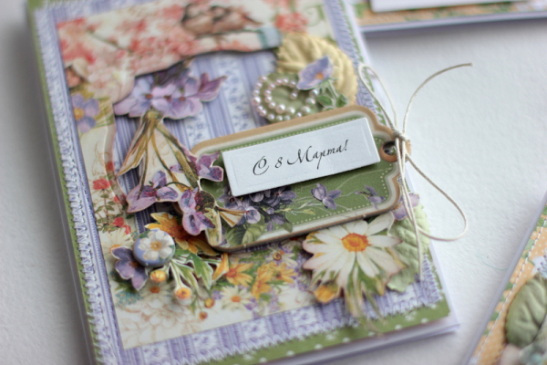 Spring Cards  Secret Garden  by Elena Olinevich  product by Graphic45  photo7