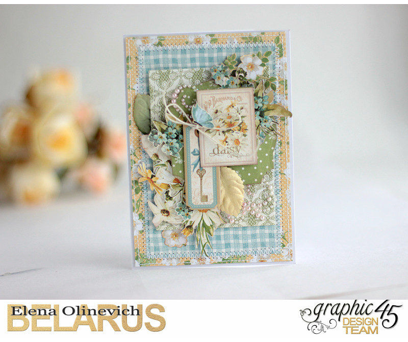 Spring Cards  Secret Garden  by Elena Olinevich  product by Graphic45  photo2