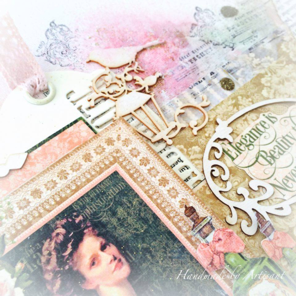 _Portrait of a Lady_ mixed media canvas tutorial for G45  by Aneta Matuszewska  photo 7