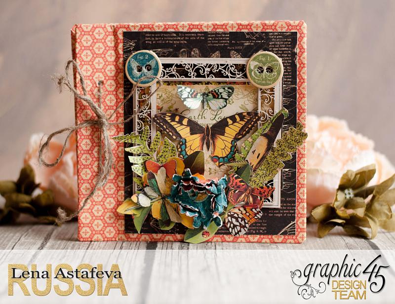 Mini album-Nature Sketchbook- Lena Astafeva-product by Graphic 45-14