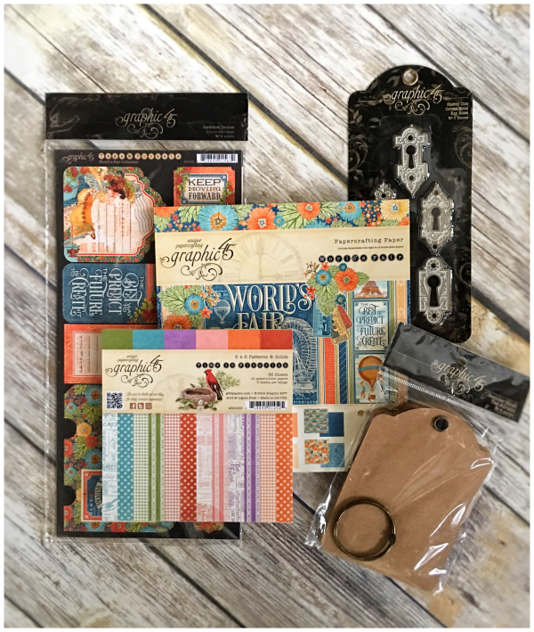 Win this bright prize pack from Graphic 45!