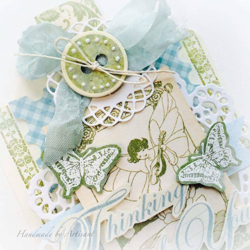 Once Upon a Springtime and Tea Time tag for Graphic 45  by Aneta Matuszewska  photo 2