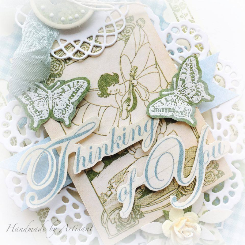 Once Upon a Springtime and Tea Time tag for Graphic 45  by Aneta Matuszewska  photo 3