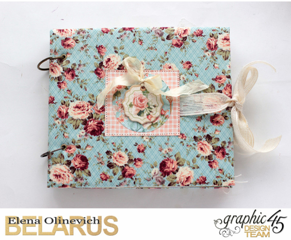 Album  Secret Garden  by Elena Olinevich  product by Graphic45  photo9