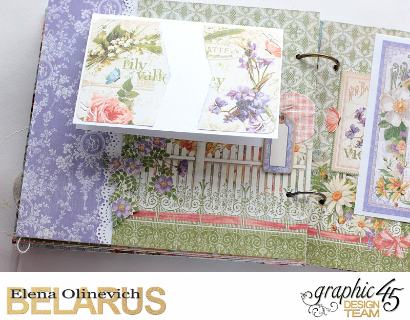 Album  Secret Garden  by Elena Olinevich  product by Graphic45  photo7e