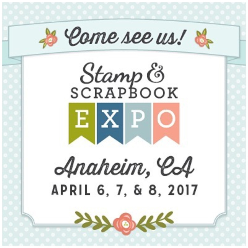 Scrapbook Stamp Expo Anaheim CA Graphic 45