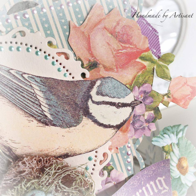 Sweet Sentiments and Tea Party Easter decor for Graphic 45  by Aneta Matuszewska  photo 4