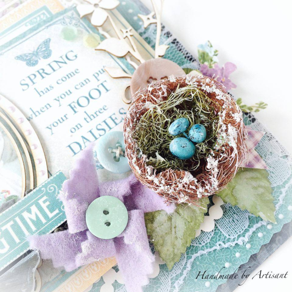 Time to Flourish spring banner for Graphic 45  by Aneta Matuszewska  photo 2