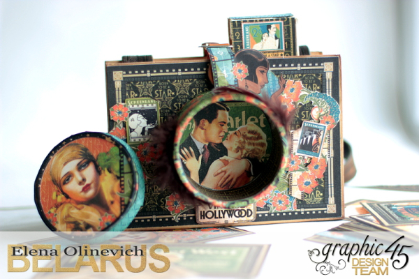 Camera Box  Vintage Hollywood  by Elena Olinevich  product by Graphic45  photo 3