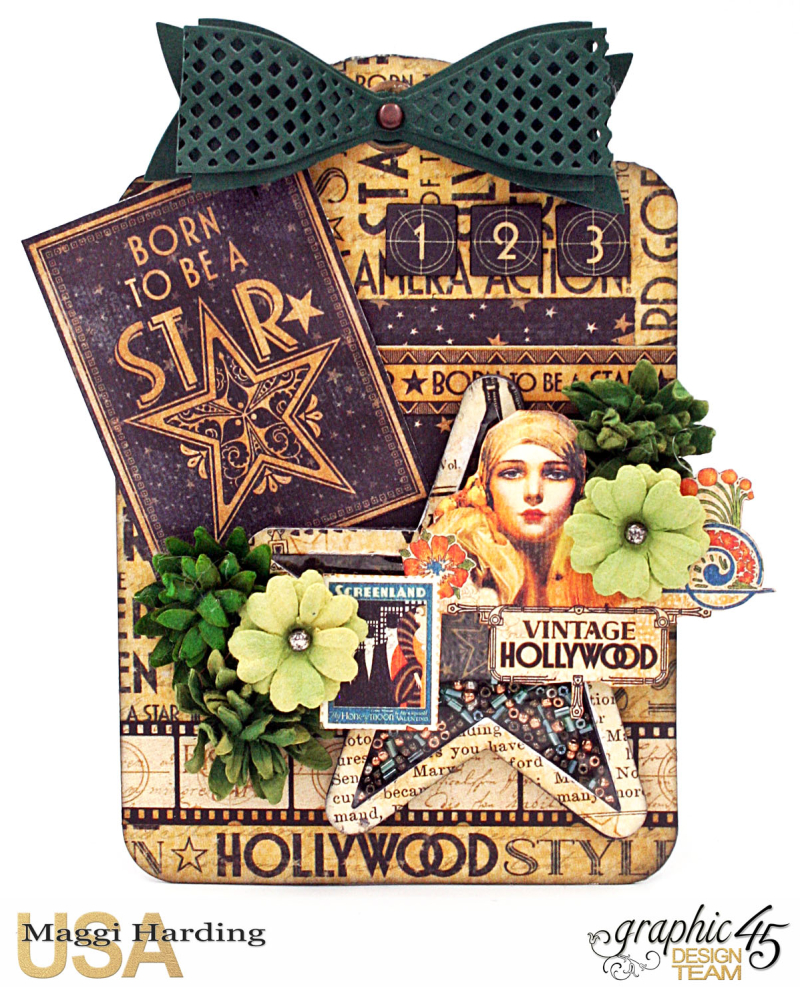 Recycled tags  Vintage Hollywood Maggi Harding - 8