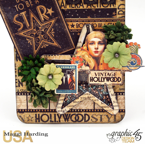 Recycled tags  Vintage Hollywood Maggi Harding - 5