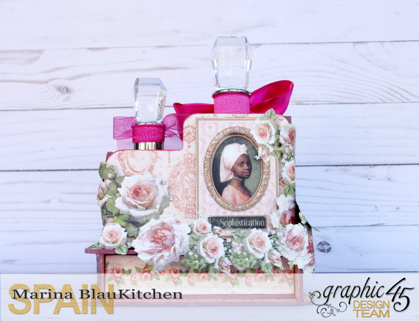 Mother's Day Perfume Set Portrait of a Lady by Marina Blaukitchen Product by Graphic 45 photo 4