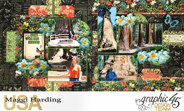 Dbl layout  Nature Sketchbook  tutorial Maggi Harding  Graphic 45 (1)
