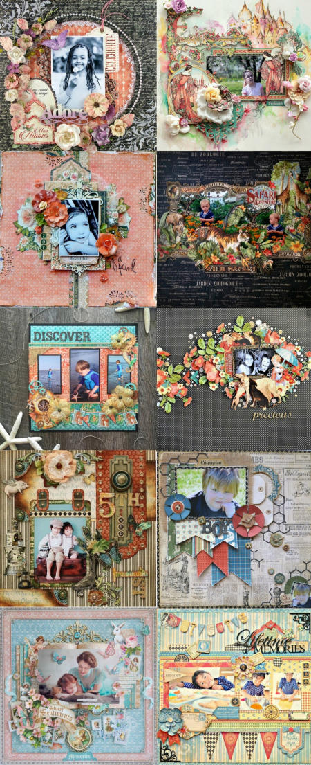 Top 10 Adorable Graphic 45 Layouts  Pinterest  Mon Amour  Enchanted Forest  Portrait of a Lady  Safari Adventure  Voyage Beneath the Sea  Raining Cats and Dogs  Olde Curiosity Shoppe  Good Ol Sport  Sweet Sentiments  French Country