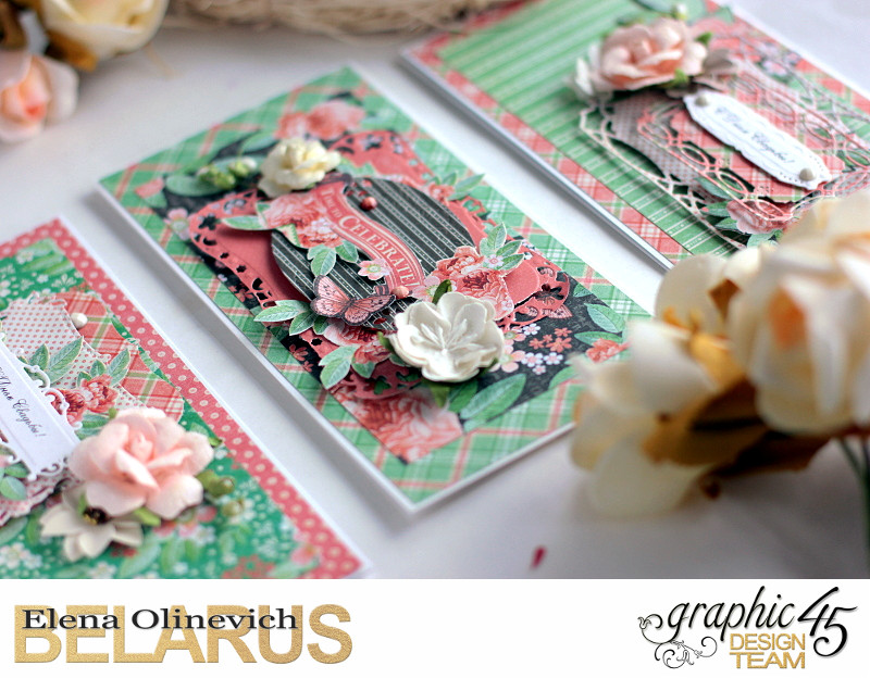 Wedding Cards  Time to Celebrate  by Elena Olinevich  product by Graphic45  photo8