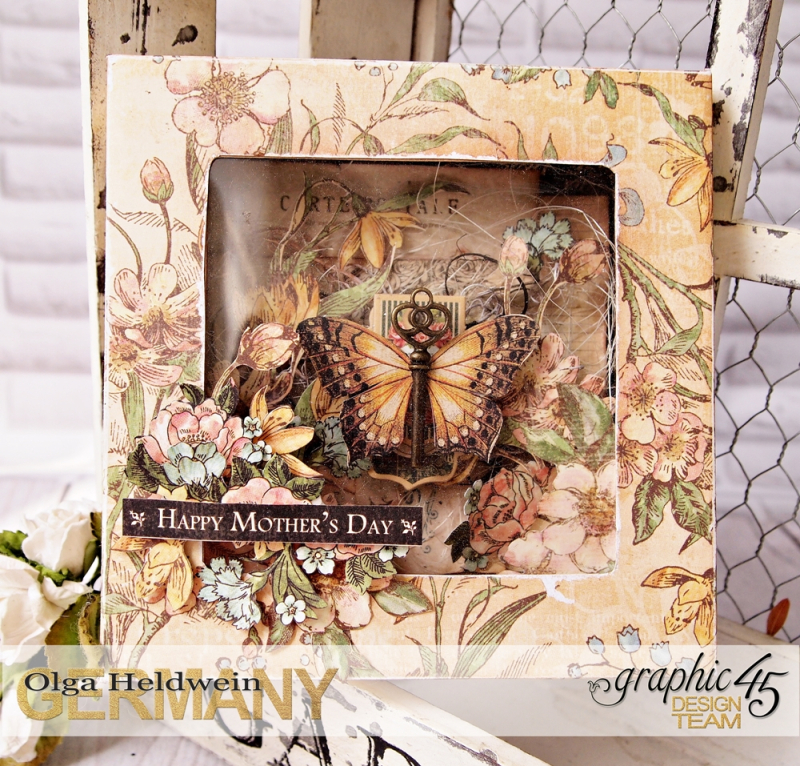Mothers day shadowbox card different collections (4)