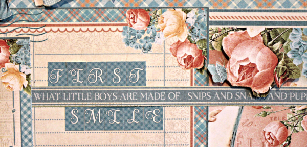 Graphic 45 Precious Moments Layout with Tutorial by Pam Bray - Photo 3_5167