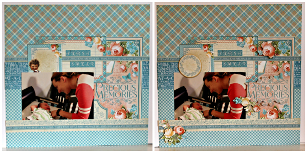 Graphic 45 Precious Moments Layout by Pam Bray with Tutorial Collage 2