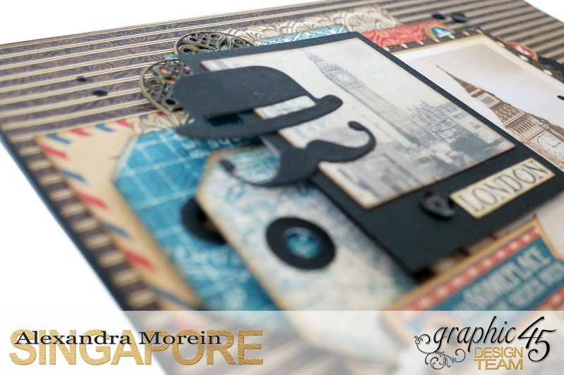 Double Layout  CityScapes  Project by Alexandra Morein  Product by Graphic 45  Photo 8