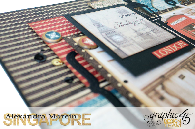 Double Layout  CityScapes  Project by Alexandra Morein  Product by Graphic 45  Photo 6