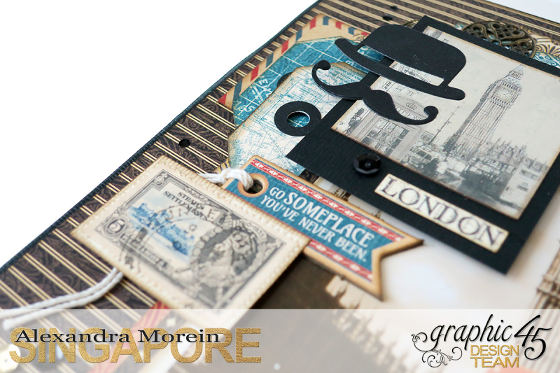 Double Layout  CityScapes  Project by Alexandra Morein  Product by Graphic 45  Photo 9