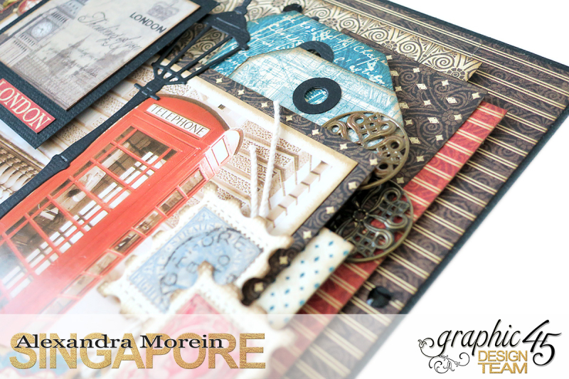 Double Layout  CityScapes  Project by Alexandra Morein  Product by Graphic 45  Photo 4