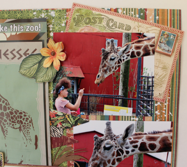 Graphic 45 Safari Adventure Double Layout with Tutorial by Pam Bray - Photo 11_5120