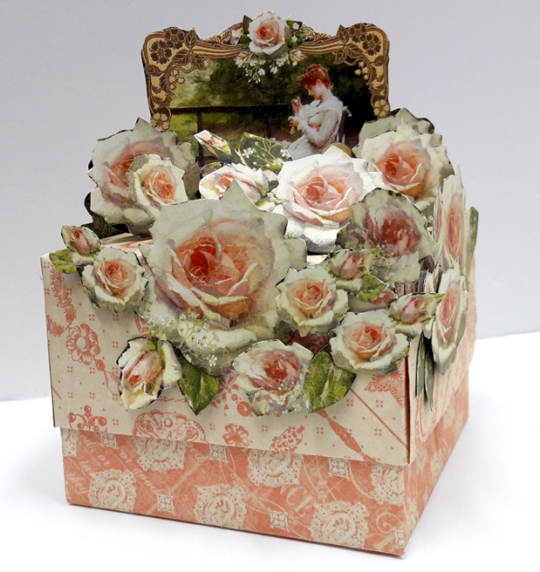 Roses Treasure Box  Portrait of a Lady  by Einat Kessler  product Graphic 45  photo 1