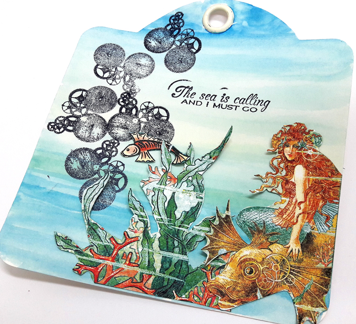Voyage beneath the Sea Tags  Einat Kessler  Product by Graphic 45  photo 4