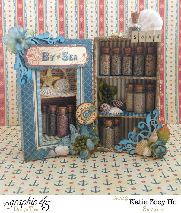 By the Sea Sand Collector's Box Shelves_1