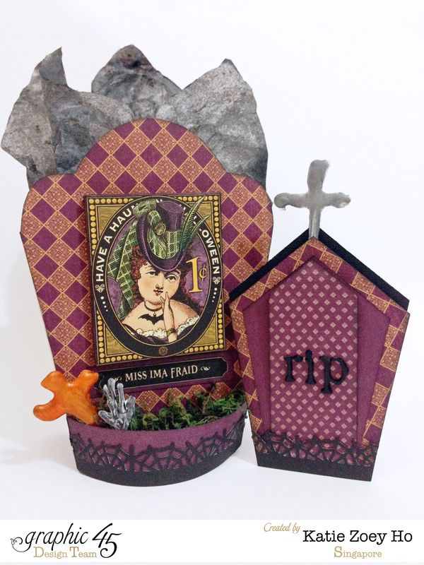 Halloween Tomb Party Gift Bag _ Card_1