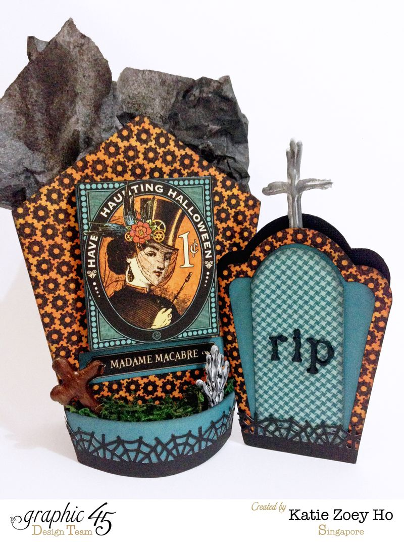 Halloween Tomb Party Gift Bag _ Card_5
